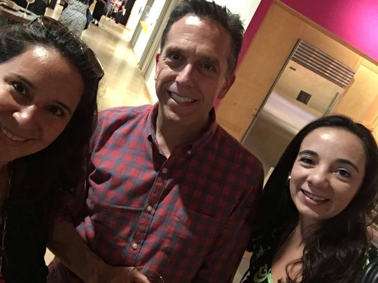 Meeting Disney Pixar COCO's Director Lee Unkrich.