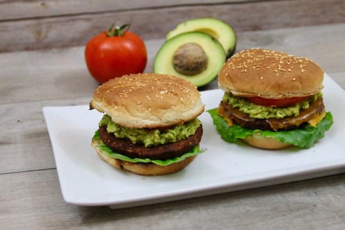 Vegan Chipotle Black Bean Burgers With Avocado