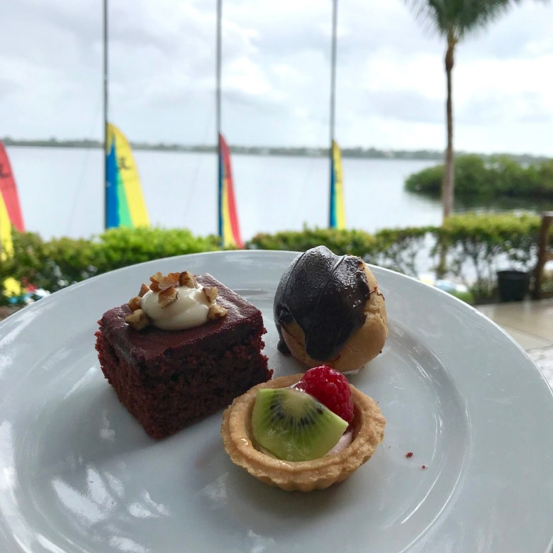 Desserts at Club Med Sandpiper Bay
