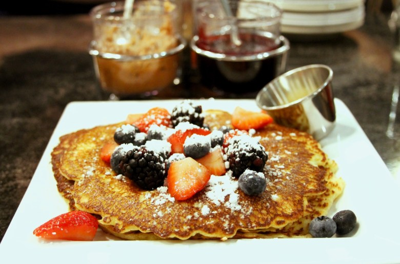 lemon ricotta hotcakes and Hell's Kitchen Minneapolis