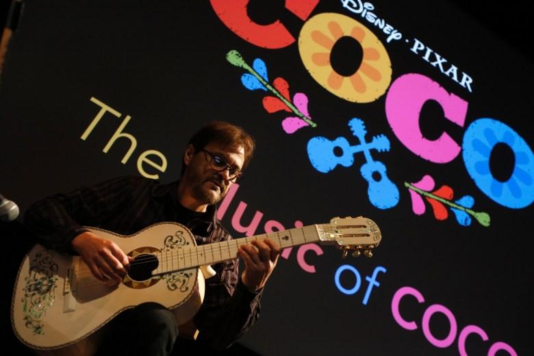 Pixar Coco Guitar