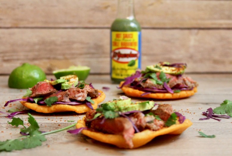 Habanero steak salbutes