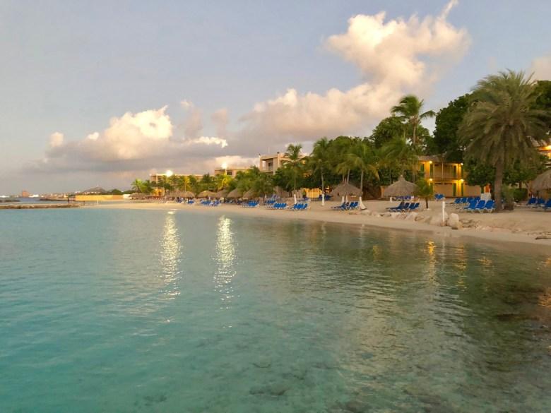 beach at Sunscape Resort Curacao