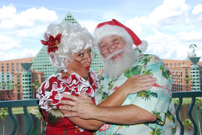 holiday magic at the Walt Disney Swan and Dolphin Resort
