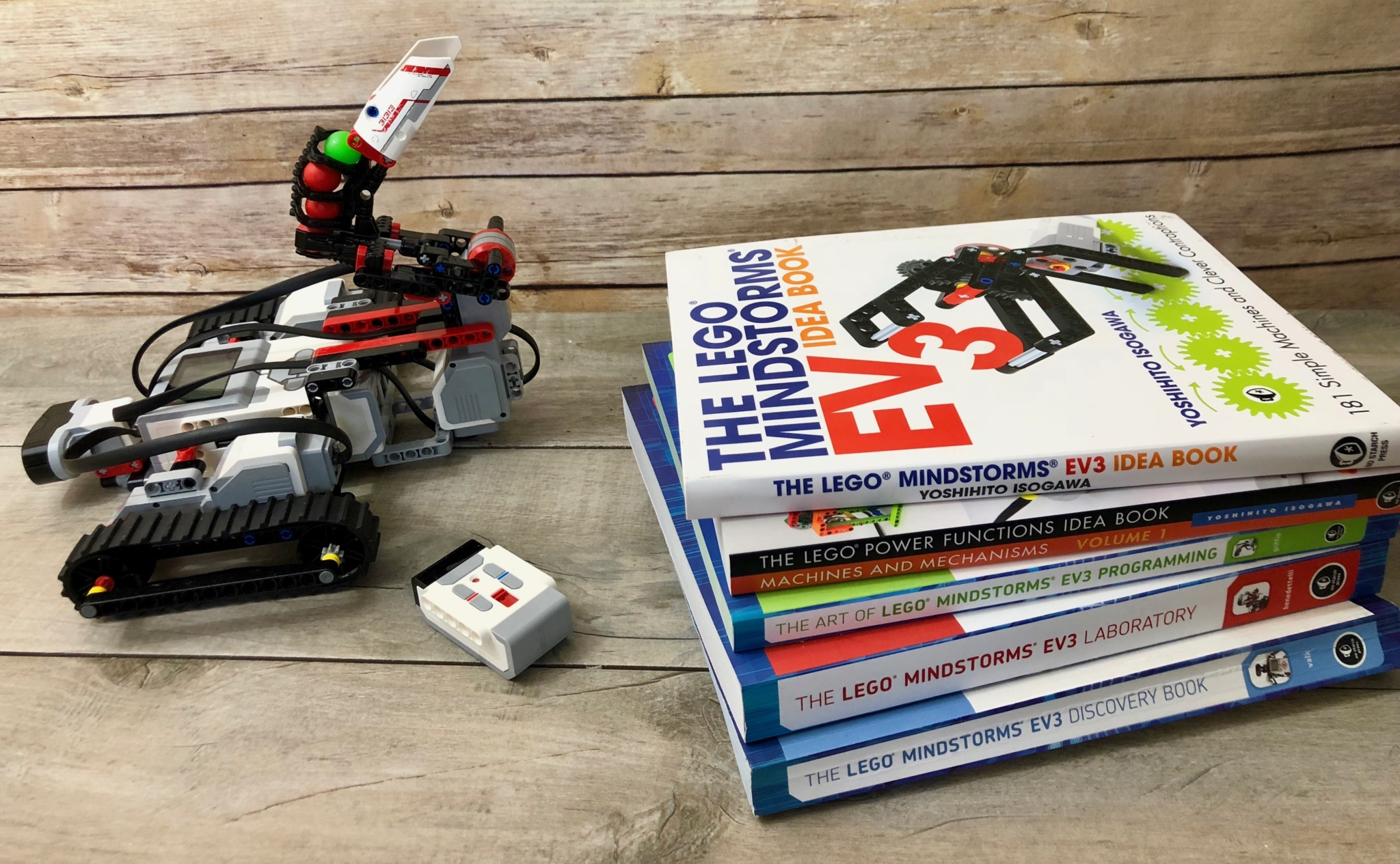 Best Books for Building and Programming with LEGO Mindstorms EV3