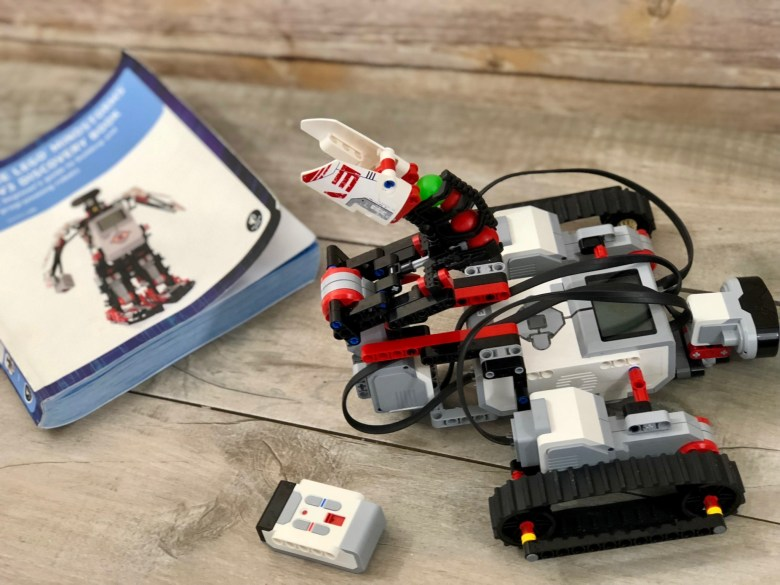Best Books for Building and Programming with LEGO Mindstorms EV3 ...