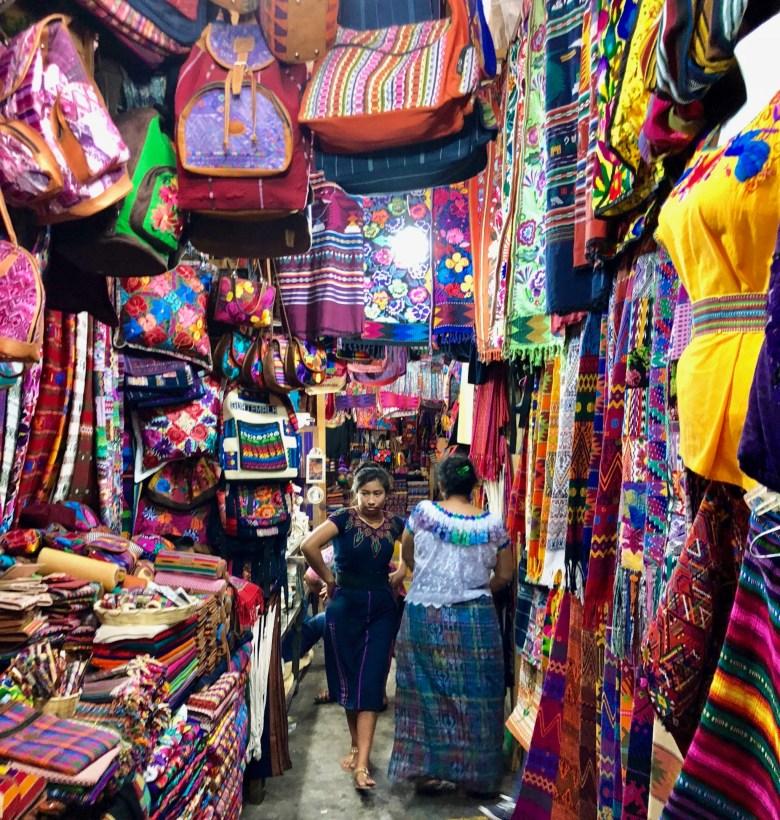 craft market it Antigua Guatemala