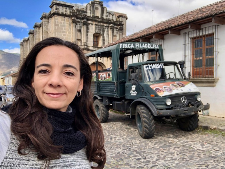unimog transport in Antigua Guatemala
