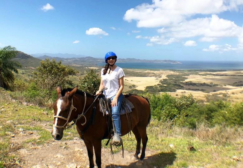 Horseback riding at el Cenizaro. Dreams Las Mareas Costa Rica.