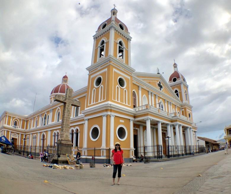 City of Granada in Nicaragua