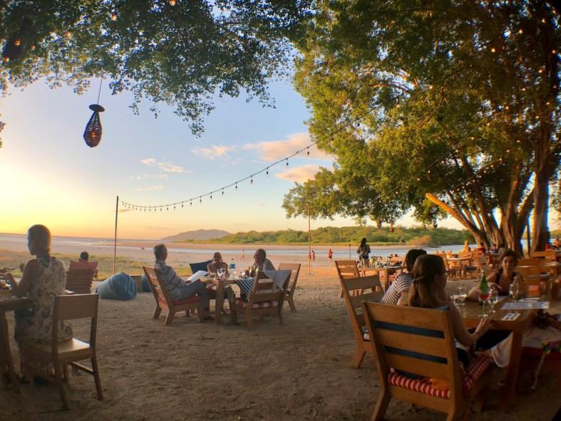Sunset at Panga's Beach Club