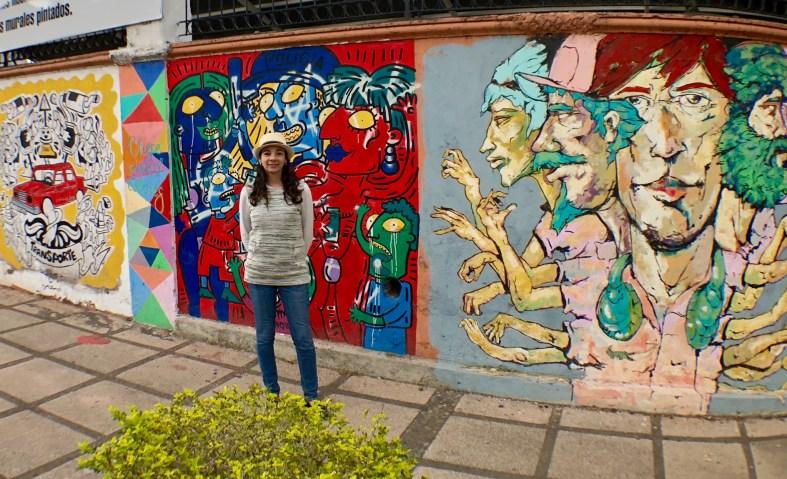 San José Costa Rica street art.