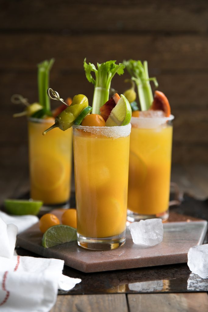 Golden Beet Tomato Bloody Mary