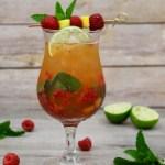 passion fruit raspberry mango mojito
