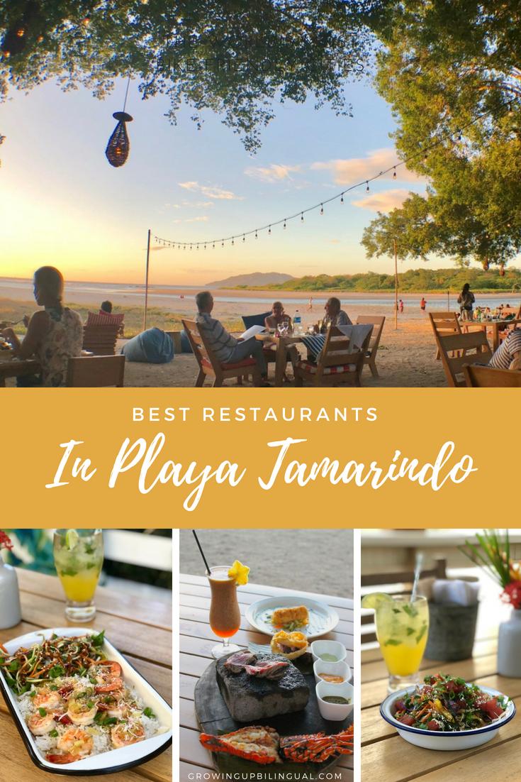 Best restaurants in Playa Tamarindo Costa Rica