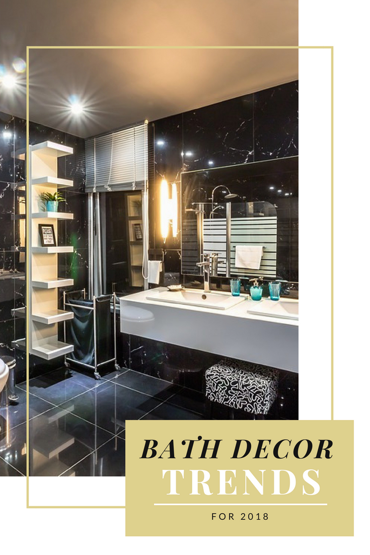 Bathroom Trends in 2018