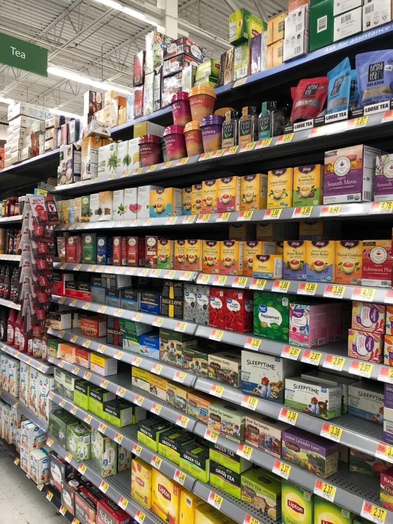 Walmart tea isle