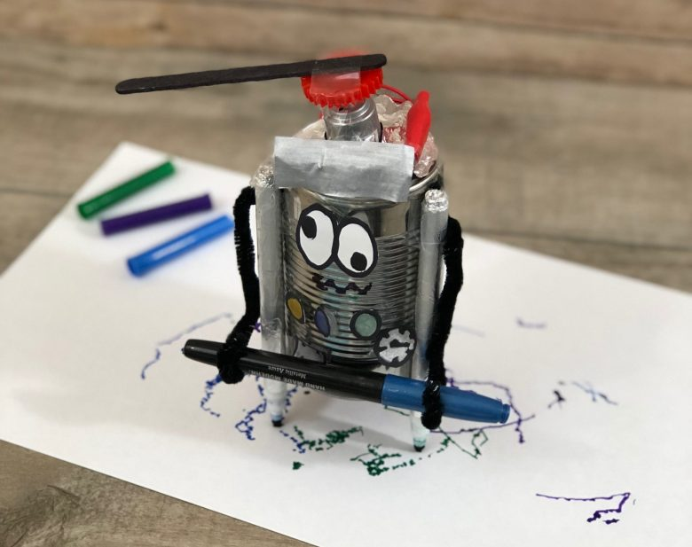 DIY Wiggle Robot and other Fun Hands-On STEM Projects for Kids