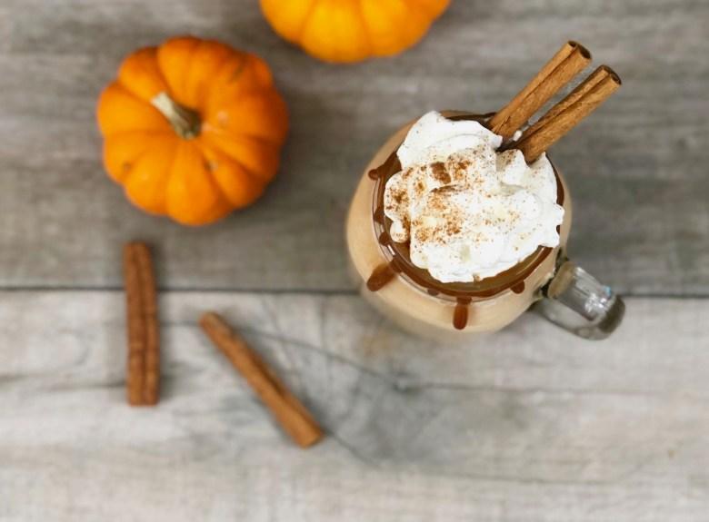 hot dulce de leche pumpkin horchata