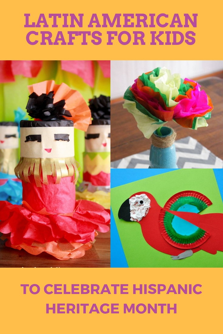 Latina American crafts to celebrate Hispanic Heritage Month