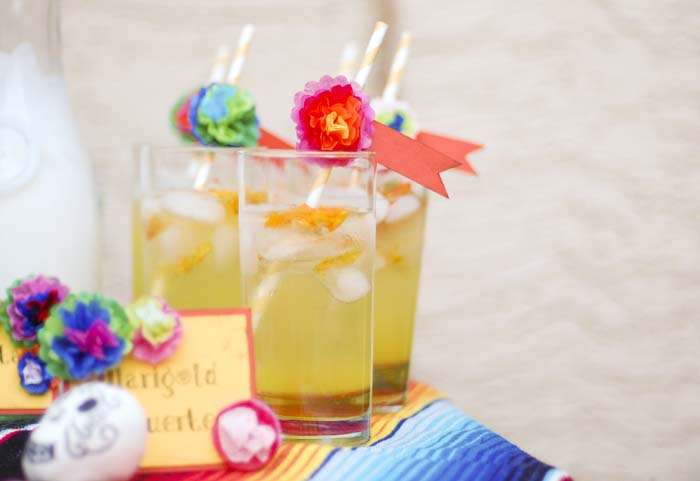Marigold Muerto Cocktail plus 10 Fantastic Cocktails for Your Day of the Dead Celebration