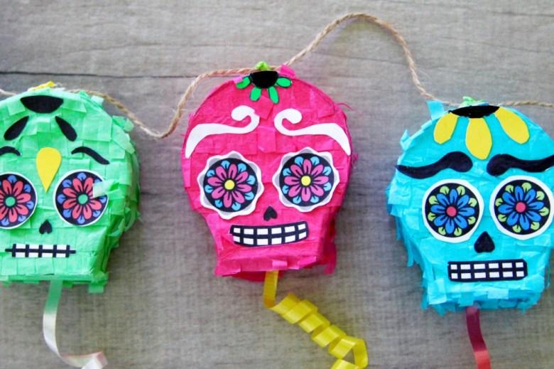 Sugar Skull Pinata Garland