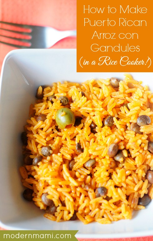 Arroz con gandules recipe plus lots of great recipes to celebrate Hispanic Heritage Month