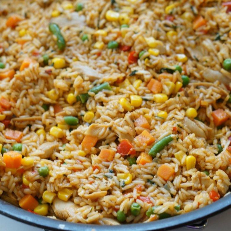 Costa Rican arroz con pollo recipe plus lots of great recipes to celebrate Hispanic Heritage Month