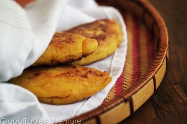 plantain empanadas from Hounduras plus lots of great recipes to celebrate Hispanic Heritage Month