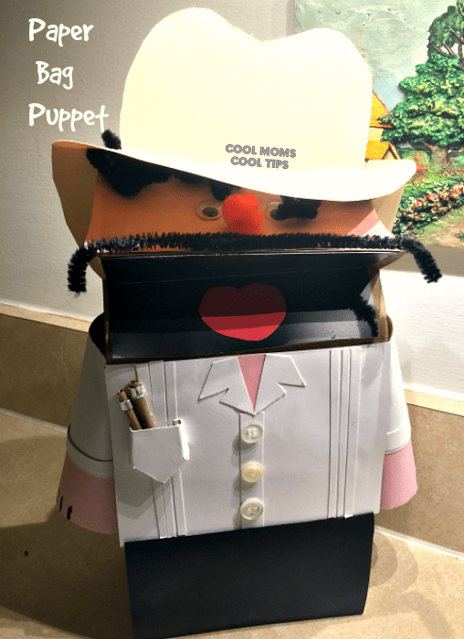 Cuban paper bag puppet craft for kids and other Latin American crafts to celebrate Hispanic Heritage Month