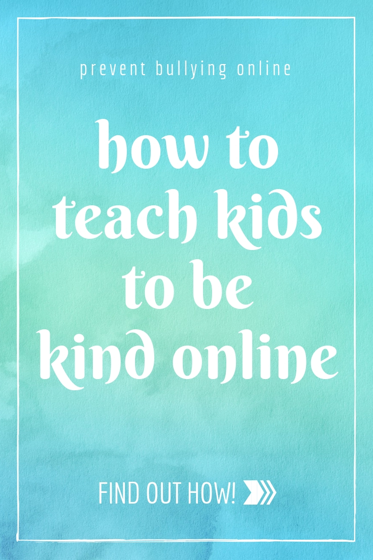 Tips and tools for preventing cyberbullying and teaching your kids to be kind online.