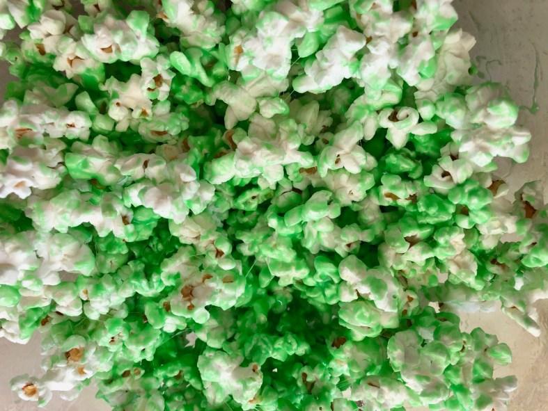 Halloween Goosebumps popcorn recipe. Goosebumps 2 Inspired Movie Night Party Ideas. Halloween party Ideas.