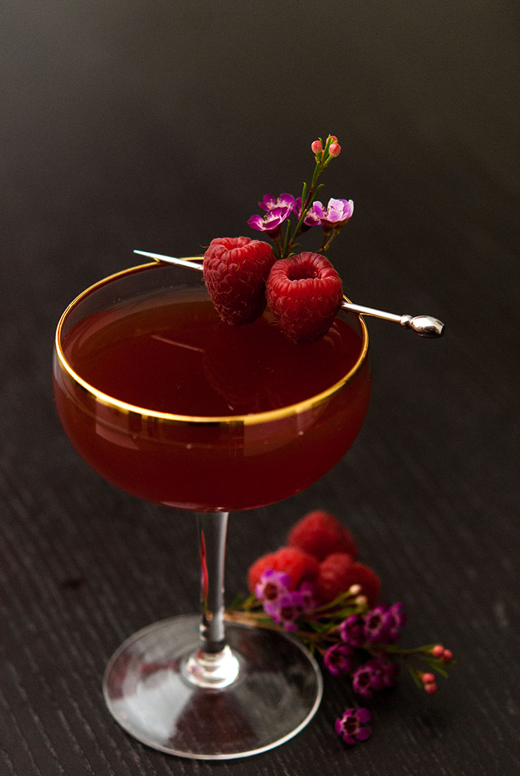 Divine Damiana Valentine Cocktail