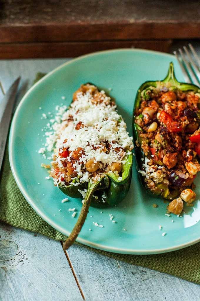 Stuffed Poblano Peppers and other spicy recipe ideas to spice up your Valentine's Day