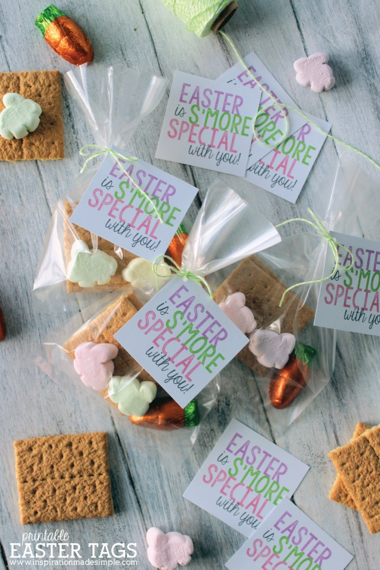 Easter Bunny Favor Bags and lots of great Easter party ideas for kids