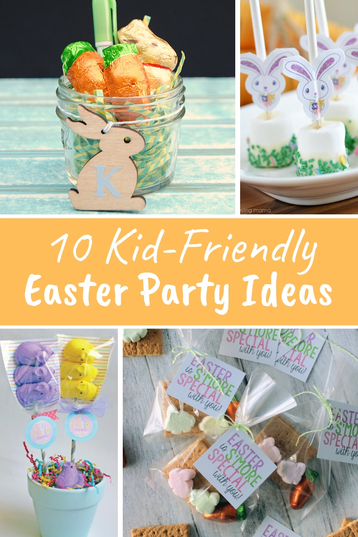 Great Easter Party Ideas for kids, from Easter party foods and decoration to Easter themed party favor