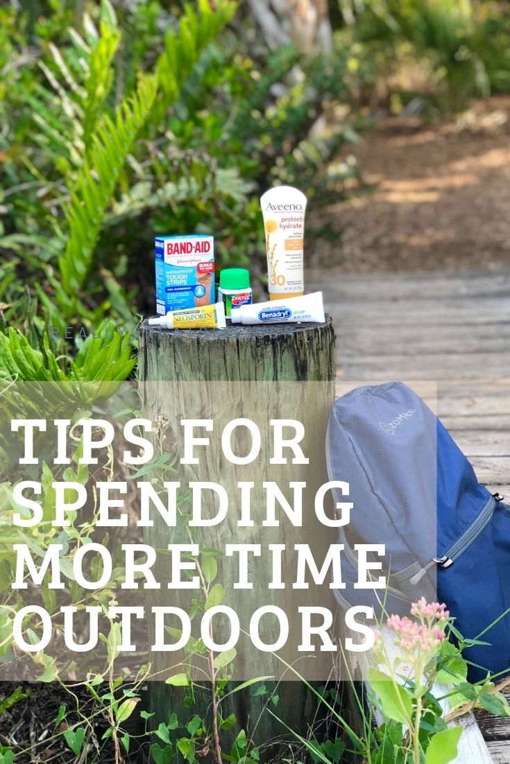 Tips for Spending More Time Outdoors