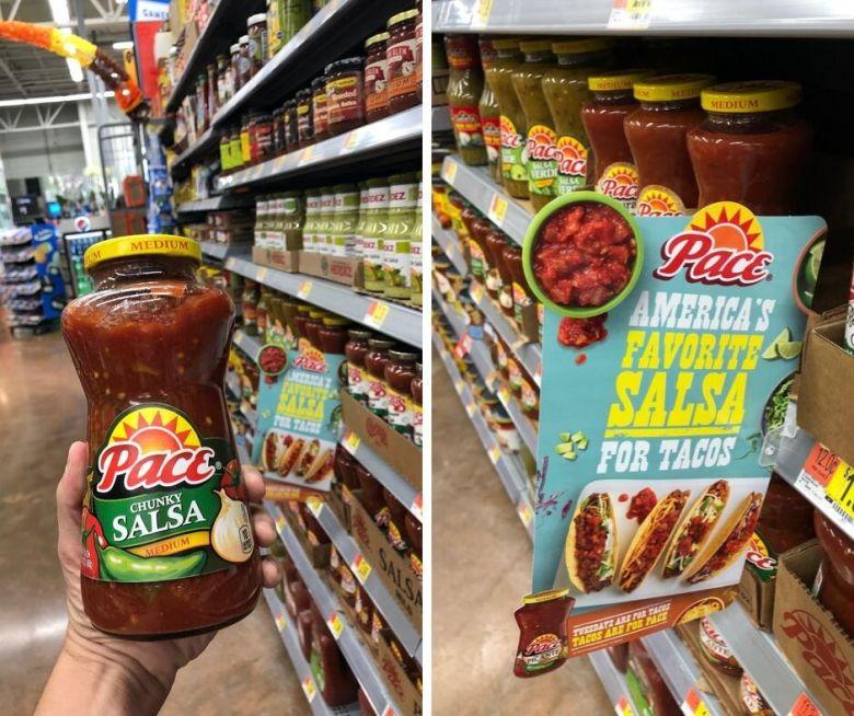 Pace salsa at Walmart