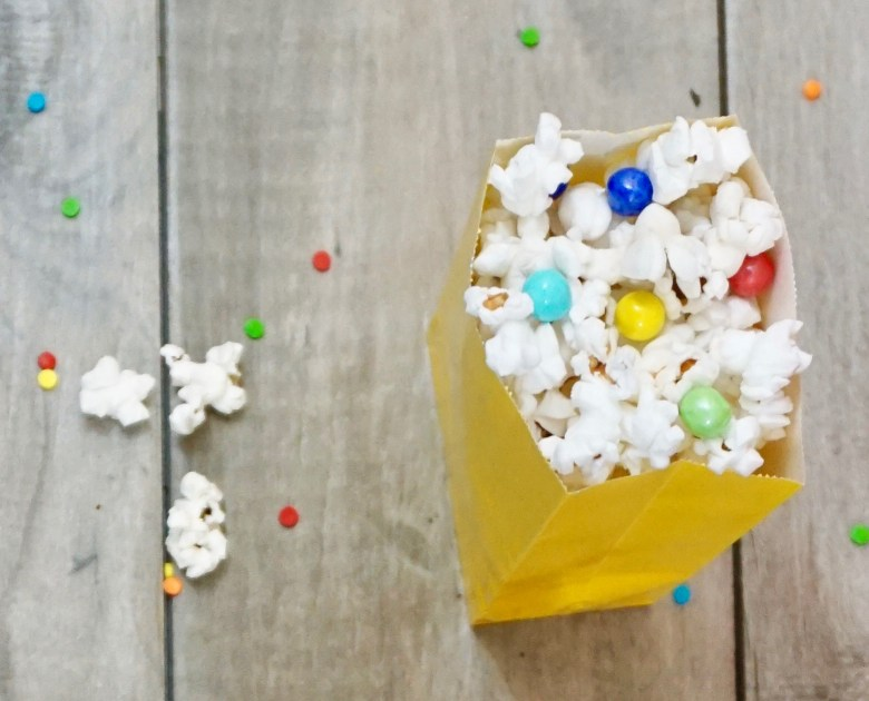 Toy Story popcorn and other Toy Story party food ideas