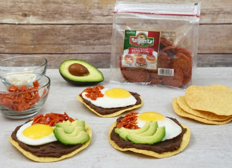 breakfast bean tostadas