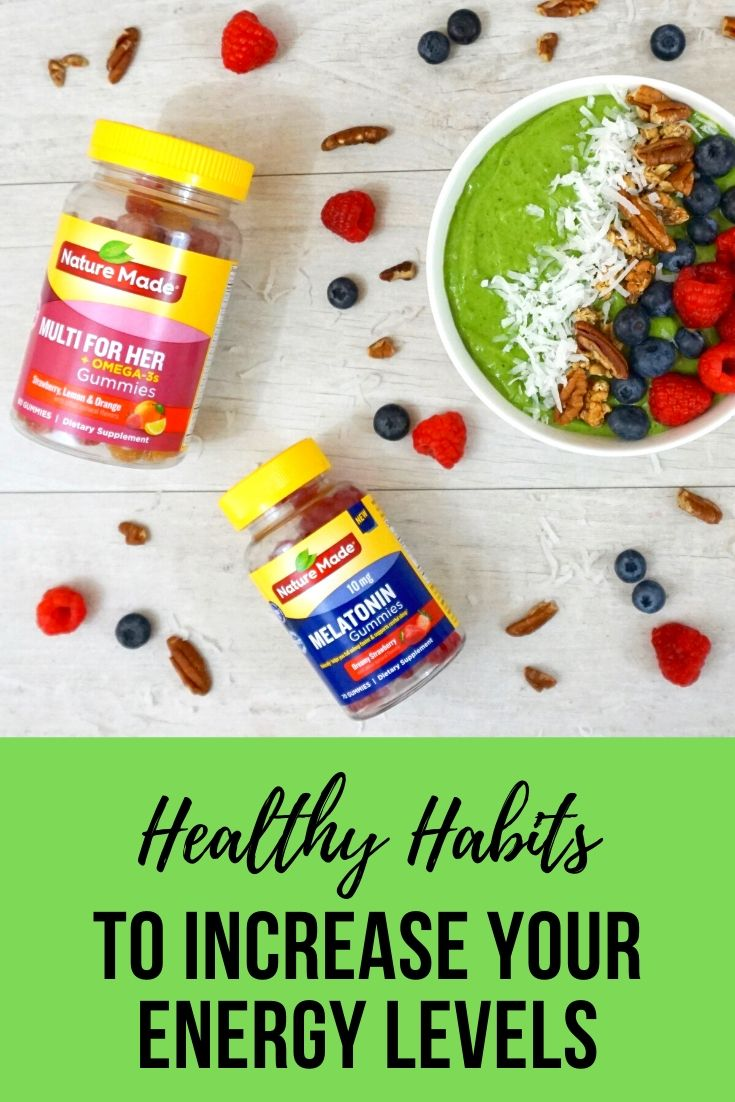 Healthy Habits to Increase Your Energy Levels