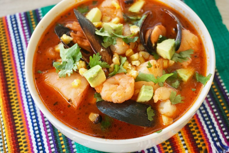 Easy chipotle seafood stew
