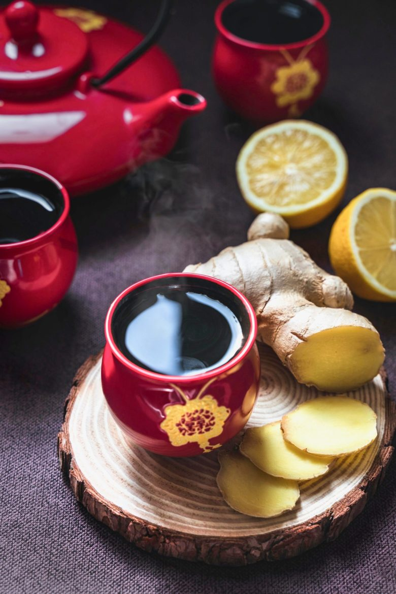 Ginger tea to boost your immune system