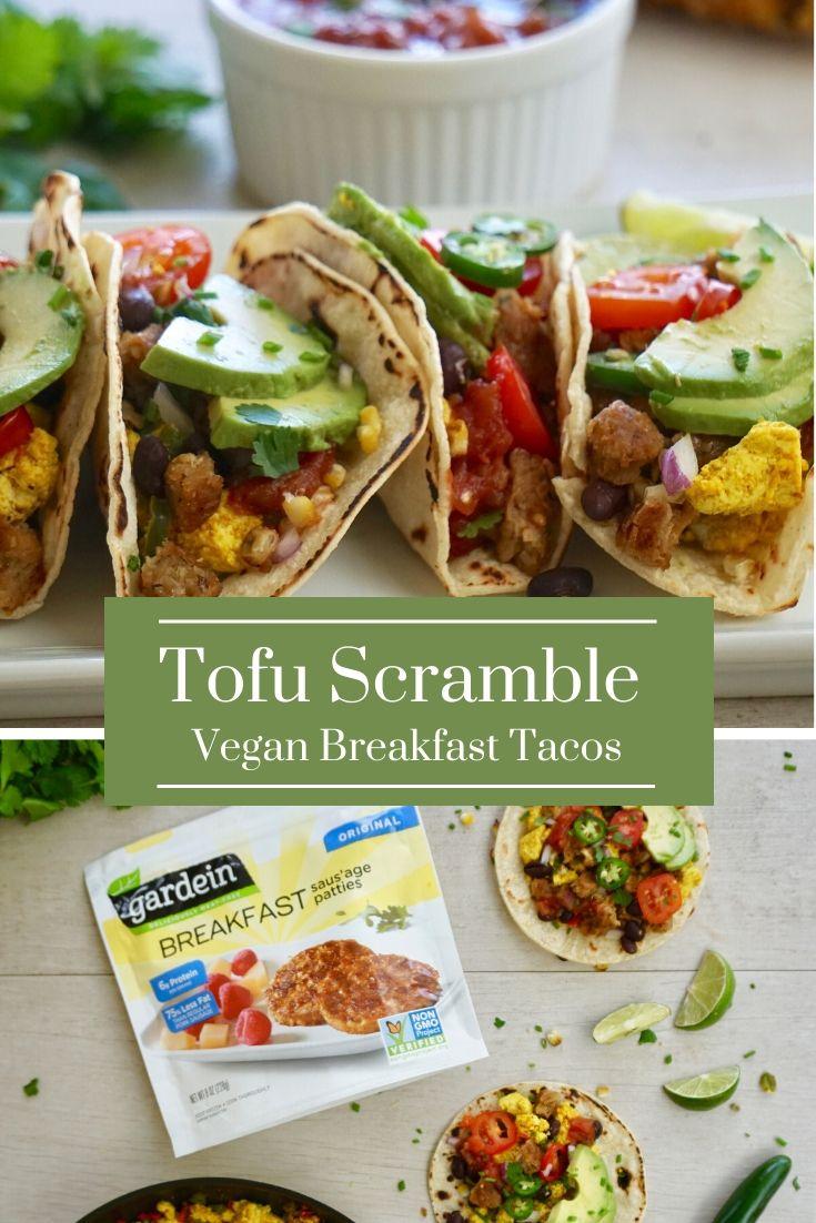 The Best Tofu Scramble Vegan Breakfast Tacos
