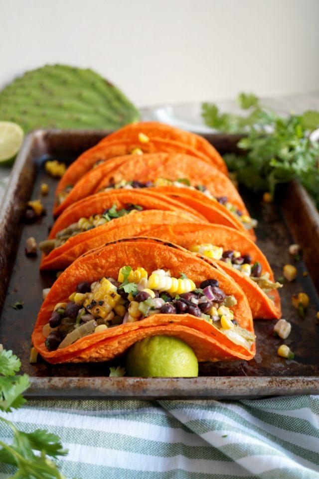 Vegan Nopales Tacos