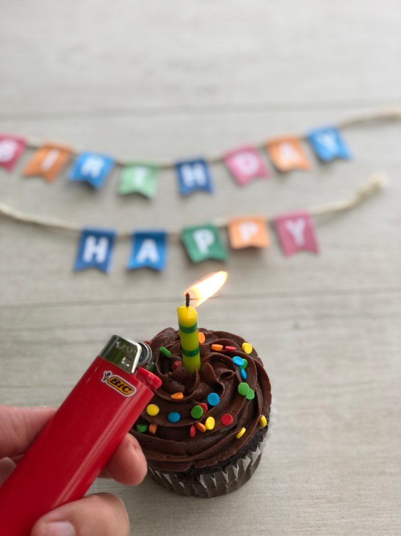 Celebrate special occasions outdoors