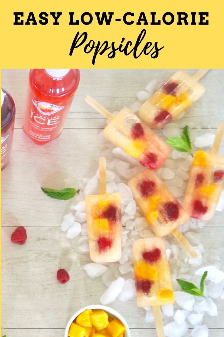 Easy low-calorie fruit popsicles