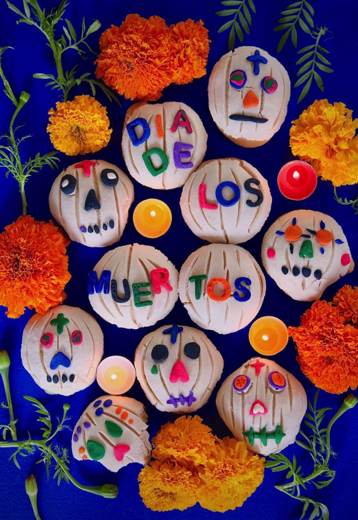 Day of the Dead conchas and other great Dia de Muertos recipes for kids