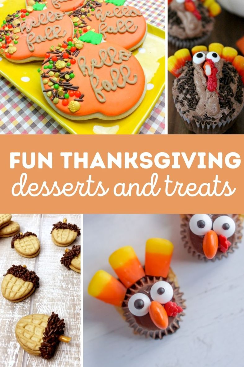 Fun Thanksgiving Desserts and Treats