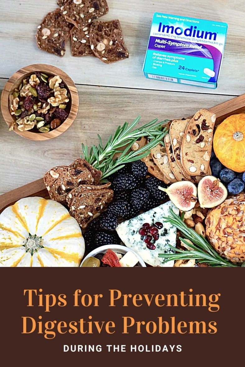 Tips for preventing digestive problems during the holidays